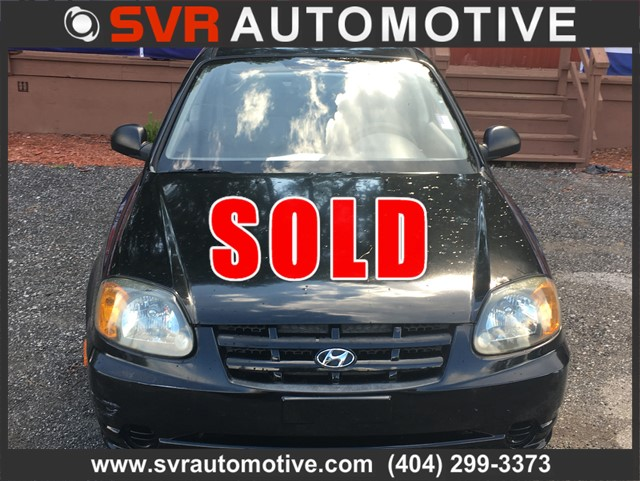 2004 Hyundai Accent 3-door