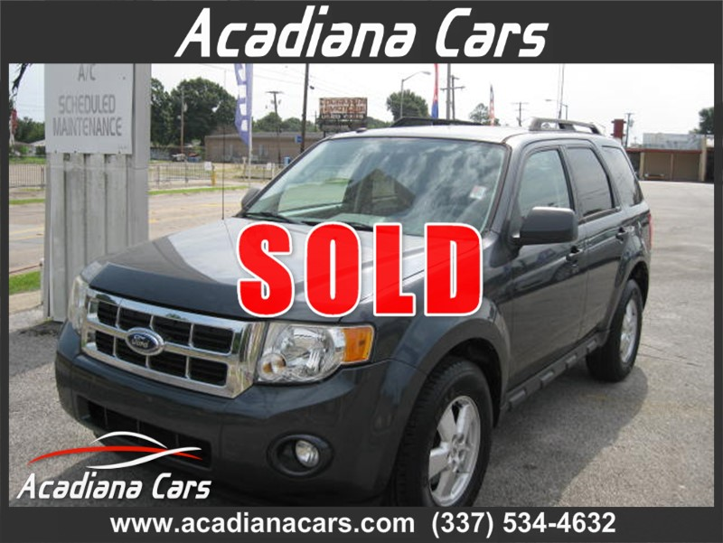 2009 ford escape stock no b78338 by acadiana cars lafayette la acadianacars com