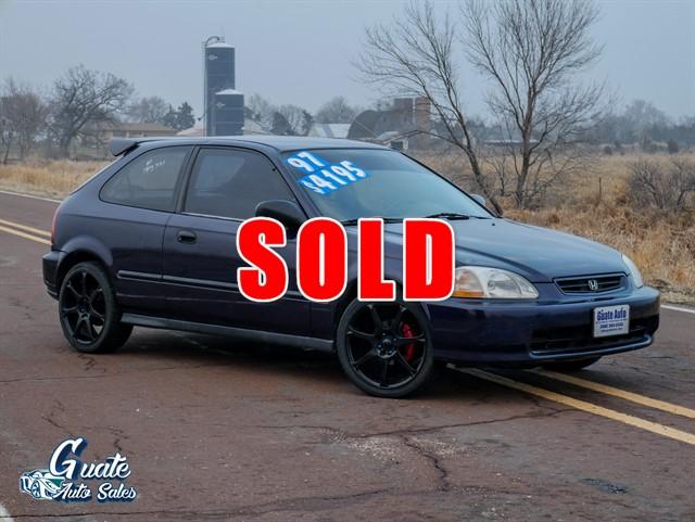 1997 Honda Civic DX hatchback