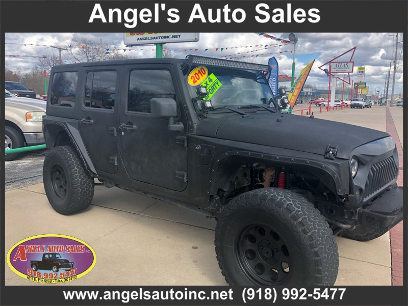 Angels Auto Sales >> 2010 Jeep Wrangler Unlimi Stock No 141522 By Angel S Auto